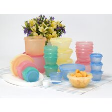 Food Storage Organizer Set with Lid in Citrus