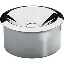12cm Stainless Steel Ash-Tray (Set of 2)