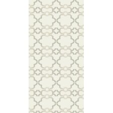 Handcrafted Acorn Gate Wallpaper in Ivory