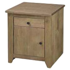 Havana 1 Drawer Bedside Table