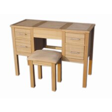 Willowdale Dressing Table and Stool in Oak