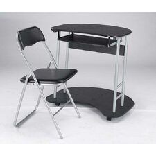 Office Folding Chair in Black