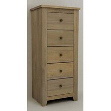 Havana 5 Drawer Chest in Pine