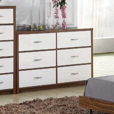 Milan 6 Drawer Chest
