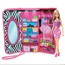 <strong>ZipBin</strong> Barbie™ Clutch and Closet