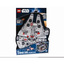 <strong>ZipBin</strong> Lego Star Wars Small Millennium Falcon Minifigure Case