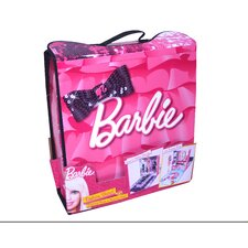 <strong>ZipBin</strong> Barbie Fashion Show Dressing Room and Runway Case