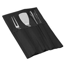 Mano 4 Piece Standard Barbecue Set