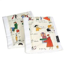 Keep Your Husband Burp Cloth Set