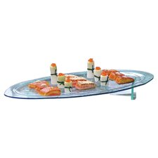 "Arctic 24"" Oval Platter"