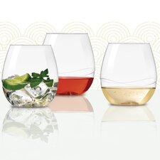 Drinkware Stemless Wine Glass (Set of 24)