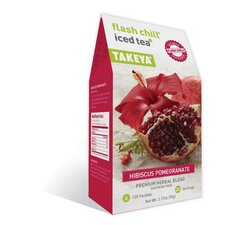Hibiscus Pomegranate Whole Leaf Iced Tea Blend