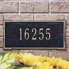<strong>Whitehall Products</strong> Roanoke Standard Address Plaque