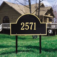 <strong>Whitehall Products</strong> Arch Marker Estate Address Sign