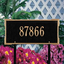 <strong>Whitehall Products</strong> Roanoke Standard Address Sign