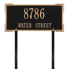 Roanoke Address Sign