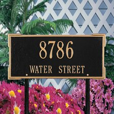 Roanoke Standard Address Sign