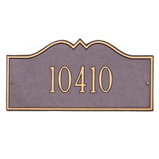Hillsboro Address Plaque