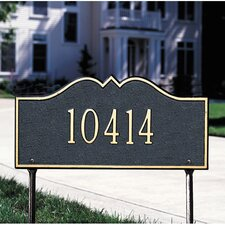 Hillsboro Standard Address Sign
