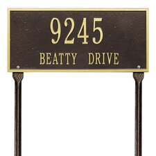 Hartford Address Sign