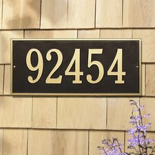 Hartford Estate Address Plaque