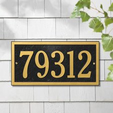 Bismark Standard Address Plaque
