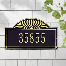 <strong>Whitehall Products</strong> Sunburst Standard Address Plaque