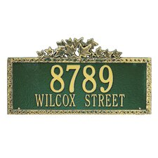 Ivy Estate Address Plaque