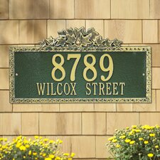<strong>Whitehall Products</strong> Ivy Estate Address Plaque