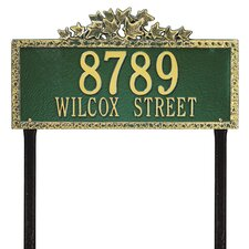 Ivy Estate Address Sign