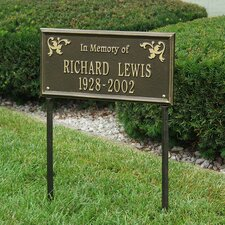 Wilmington Standard 'In Memory of' Lawn Memorial Sign