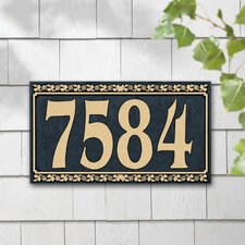 Dresden Standard Address Plaque