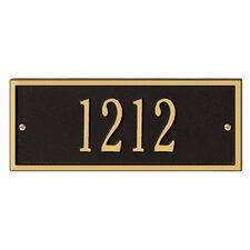 Hartford Mini Address Plaque