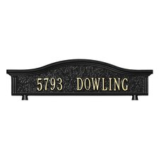 Personalized Address Mailbox Topper