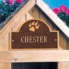 Pet Paw Mini Arch Plaque