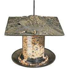 "Cardinal 6"" Tube Bird Feeder"