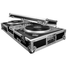Two Turntables / 10 Mixer DJ Coffin - Battle Style