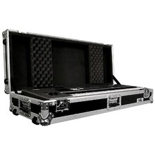 <strong>Road Ready Cases</strong> 61 Keyboard Case with Z-Lock Foam with Wheels