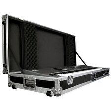 <strong>Road Ready Cases</strong> 88 Keyboard Case with Z-Lock Foam with Wheels