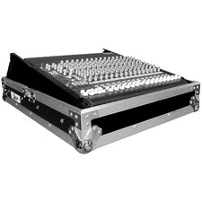 Universal Mixer Case with Rack Rails