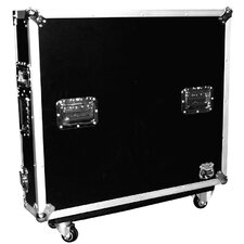 Mixer Case for Yamaha MG2414 Mixer with Casters and Doghouse