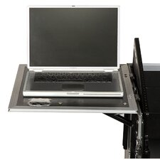 DJ / Mi Slant Rack System - Pair of Side Wings with 1U Drawer For M-Series Racks