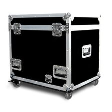 <strong>Road Ready Cases</strong> Half Size Utility Trunk with Casters