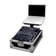 "Integrated Laptop Stand with 12"" DJ Mixer Case"