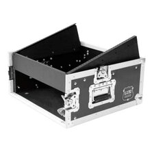 Lux Label 10U Slant Mixer Rack / 2 U Vertical Rack System