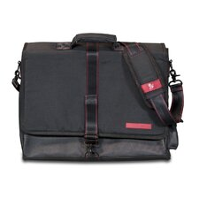 "Messenger Bag with 17"" Laptop Compartment"