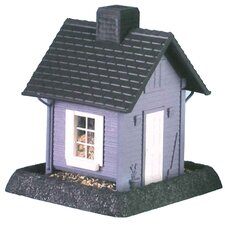 Blue Cottage Birdfeeder