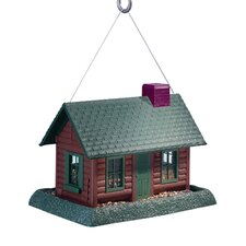 <strong>North States</strong> Log Cabin Village Collection Birdfeeder