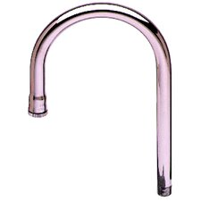 Rigid Gooseneck Spout Pot Filler Faucet with Plain Tip