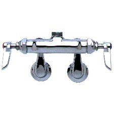 "Wall Mounted Faucets with 6"" Swing Spout"
